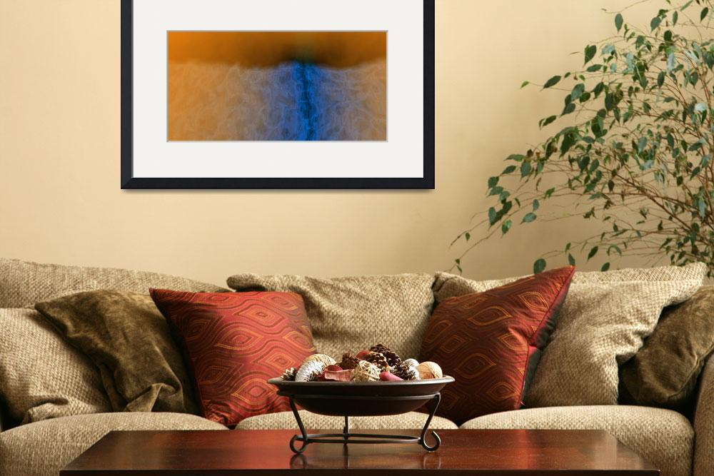 """""""Study in Blue and Orange #3""""  (2013) by AlmaLee"""