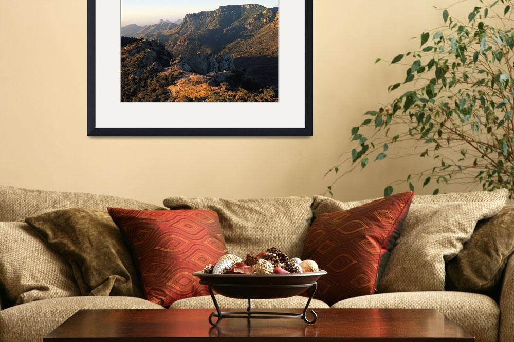"""""""Rugged Rocky Canyon Land&quot  by ArtLoversOnline"""