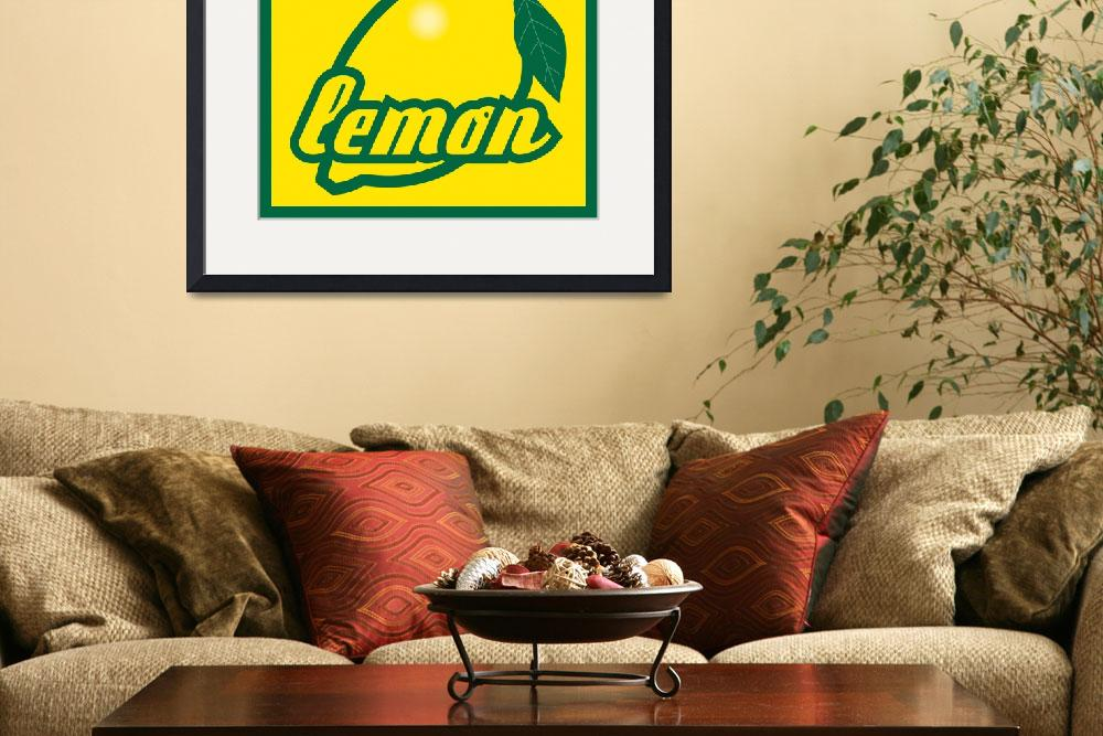"""""""lemon&quot  by Kanzy"""