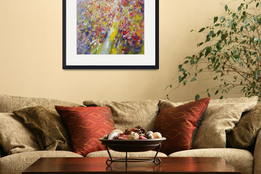 """""""Floral abstract&quot  (2010) by zampedroni"""