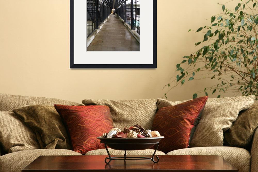 """""""London Arched Iron Walkway&quot  (2007) by ibsmith66"""