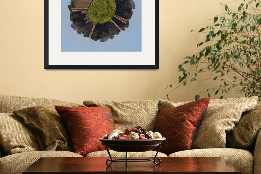 """""""Herford On His Wee Planet&quot  by WrightFineArt"""
