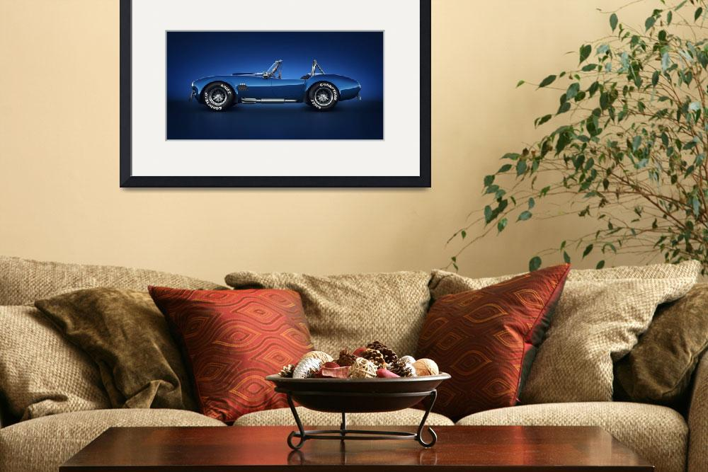 """""""Shelby Cobra 427 - Water Snake&quot  (2013) by themeco"""