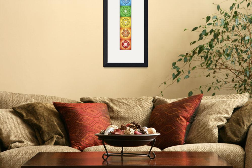"""""""The Seven Chakras - Series 2 Artwork 2&quot  by dcz"""