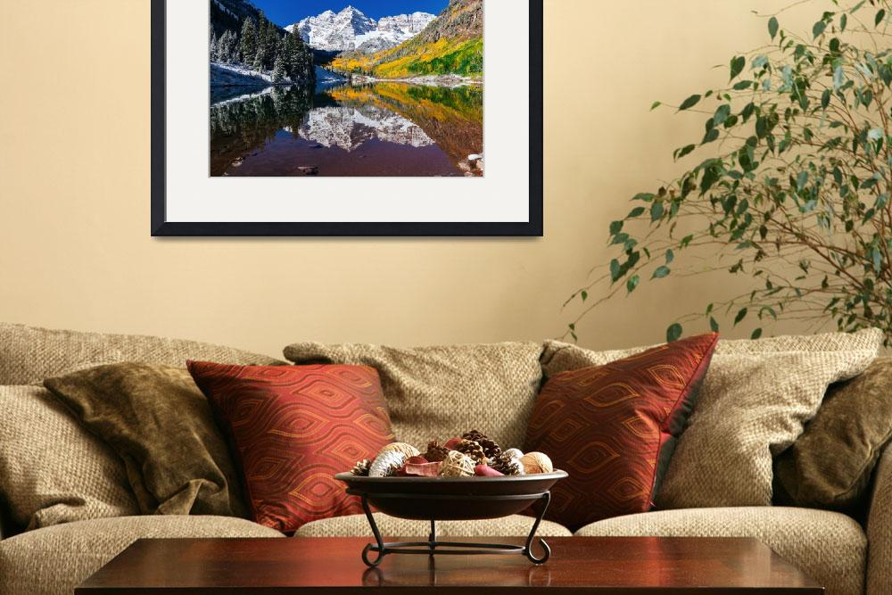 """""""Fall at the Maroon Bells&quot  by Santomarco"""