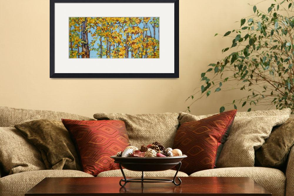 """""""Autumn Trees&quot  by dreesefineart"""