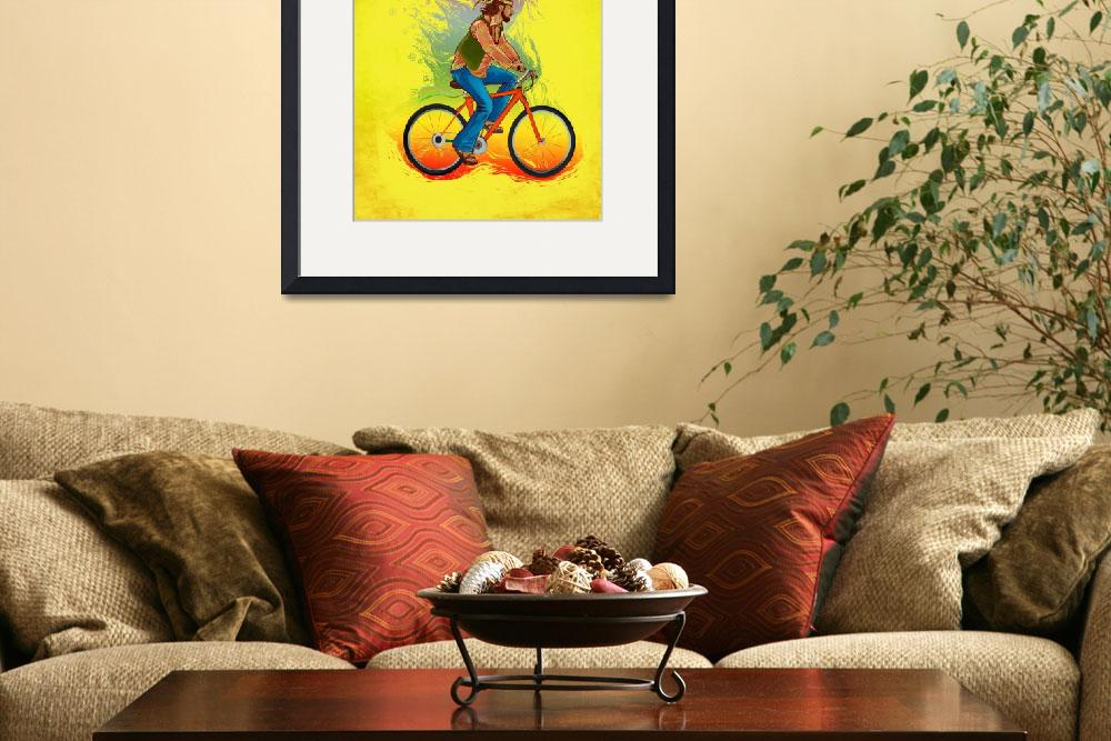 """""""A carefree hippy&quot  by fanaticstudio"""
