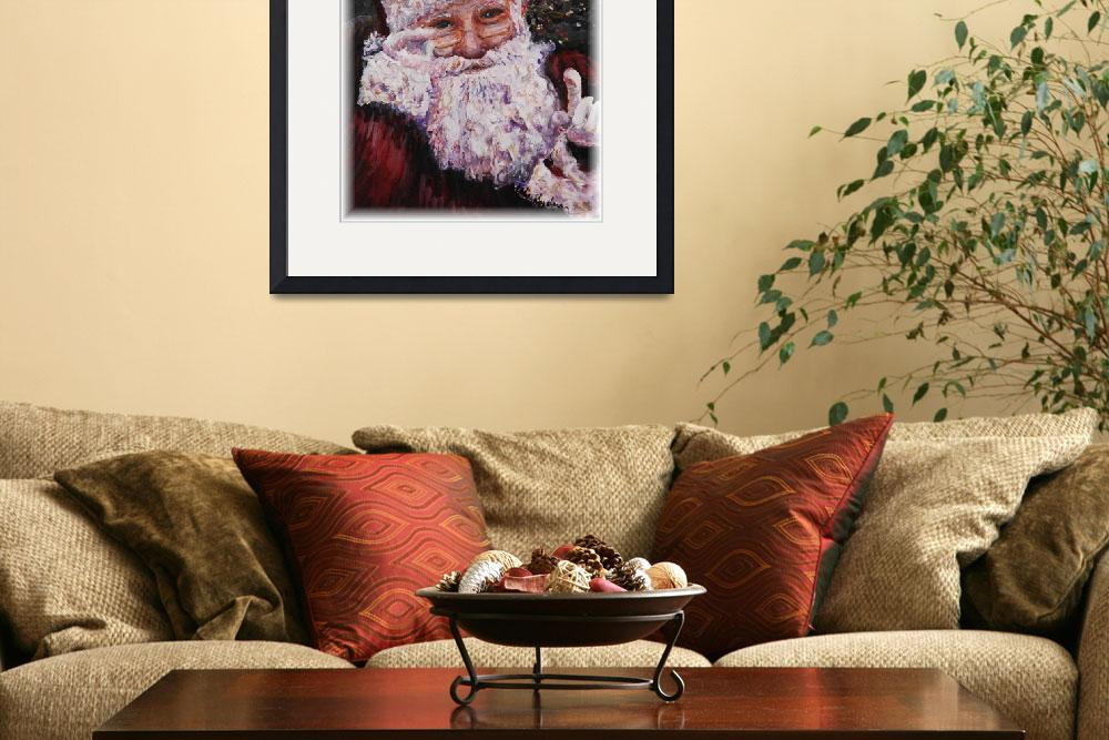 """""""Santa Chat&quot  (2007) by nadinerippelmeyer"""