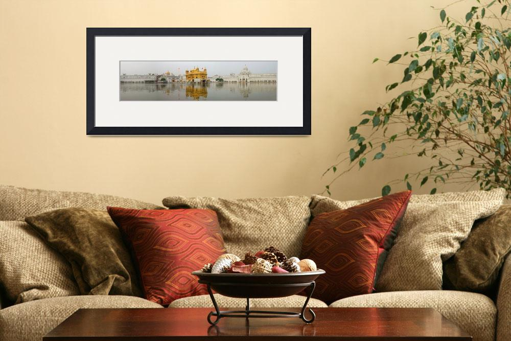 """""""Golden Temple Panorama&quot  by SikhPhotos"""