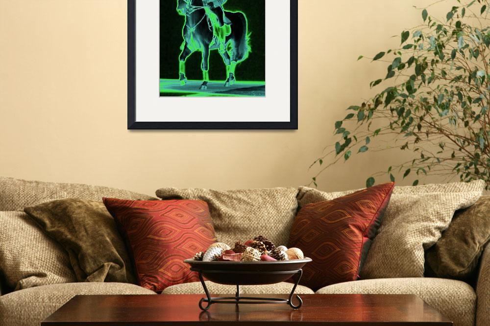 """""""Glowing Gaits&quot  (2007) by SharonANelson"""