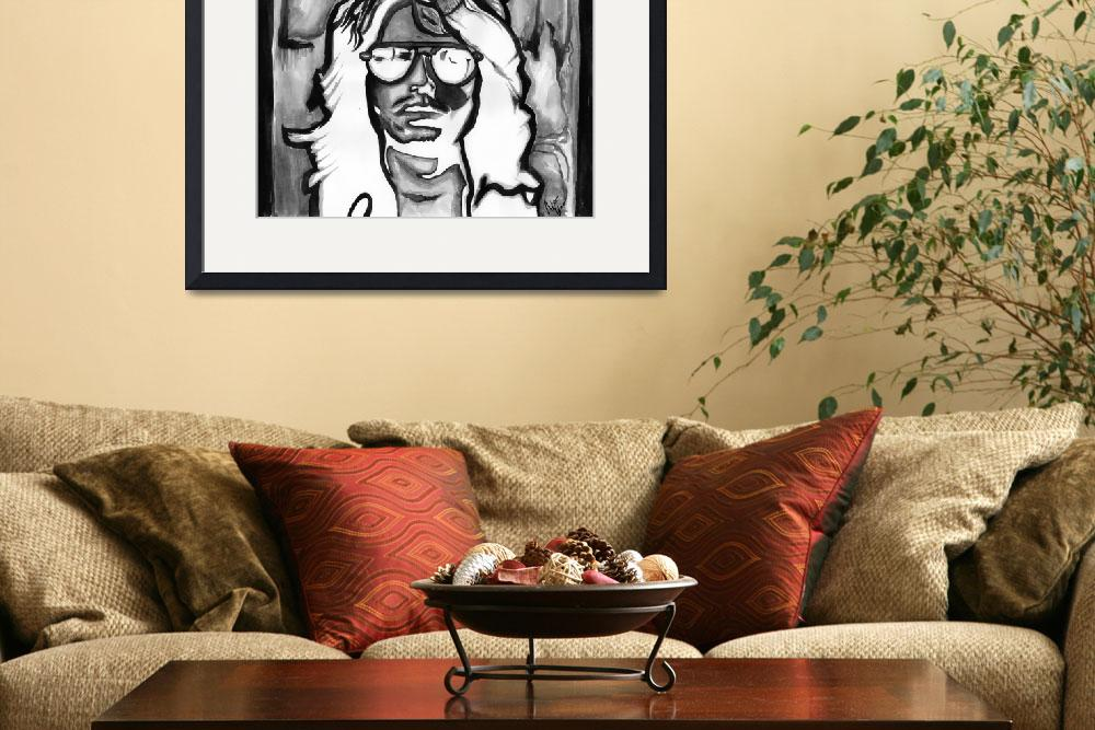 """""""Jim Morrison - 27 Club Series&quot  (2012) by NateWilliams"""