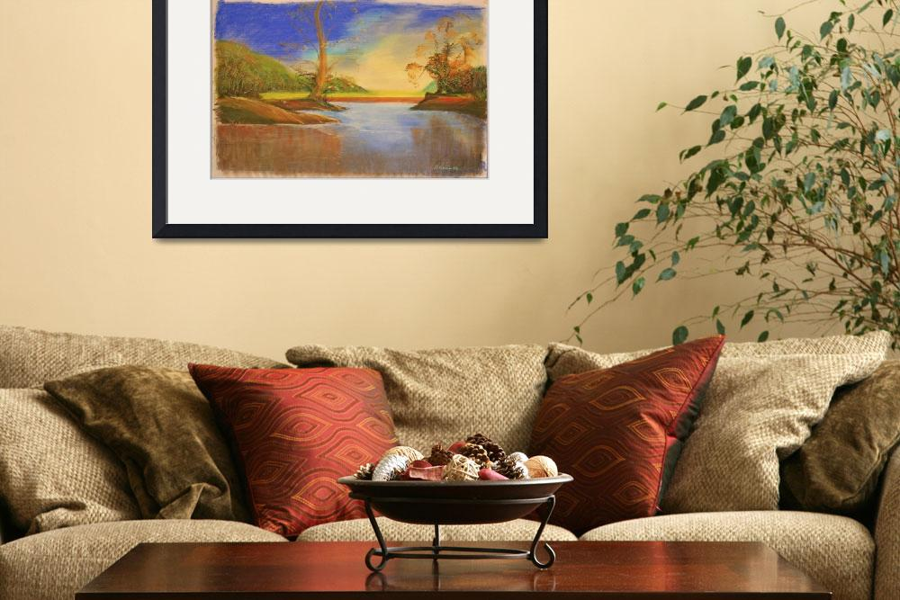 """""""IMG_0322two trees landscape""""  (2008) by jbrown1036"""
