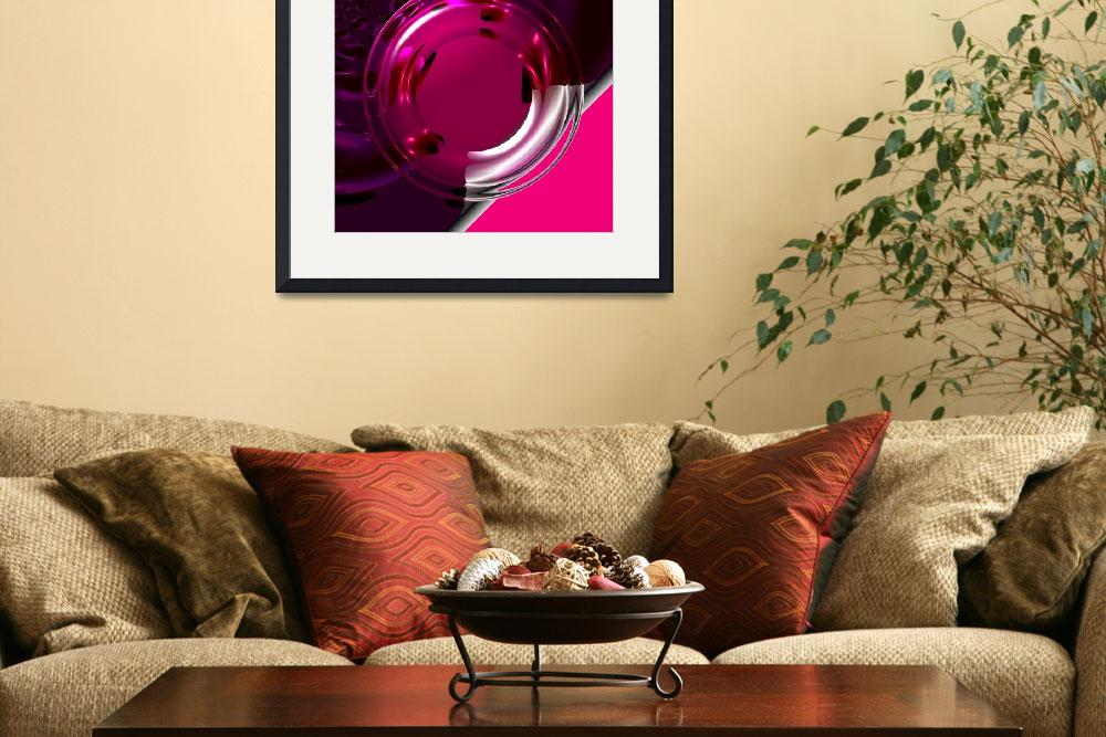 """Pink Candy&quot  (2008) by ArtPrints"