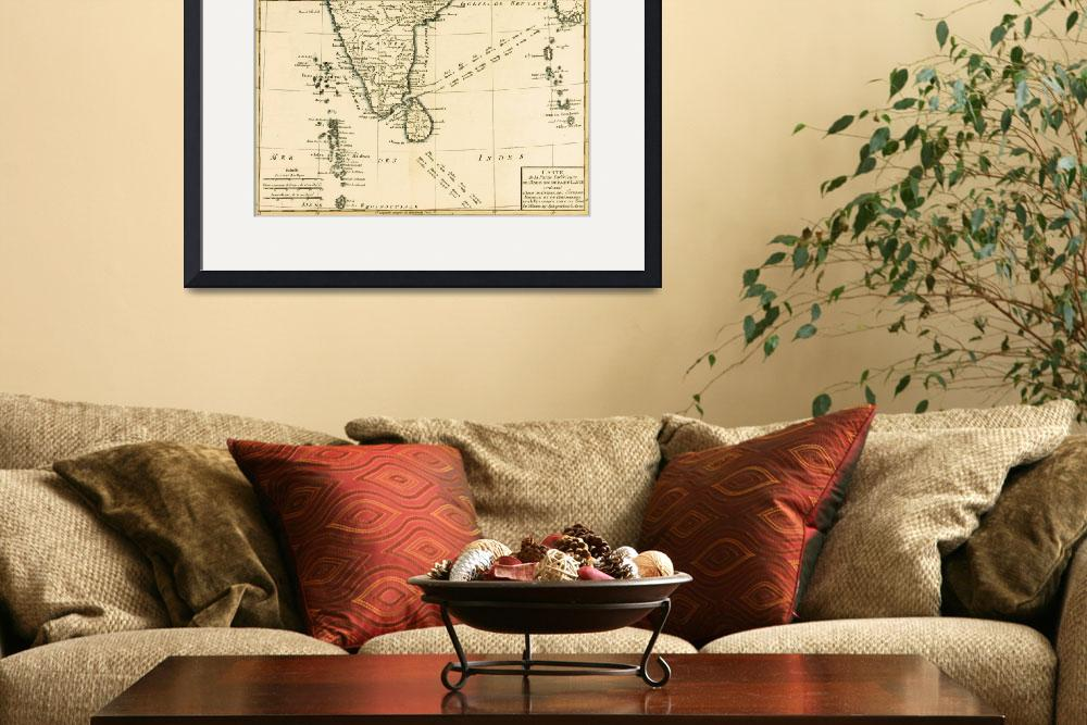"""""""Southern India and Ceylon&quot  by fineartmasters"""