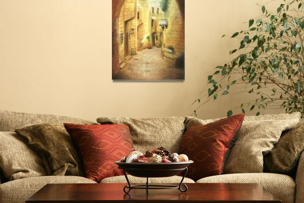 """""""Old City&quot  (2008) by Adrichal"""