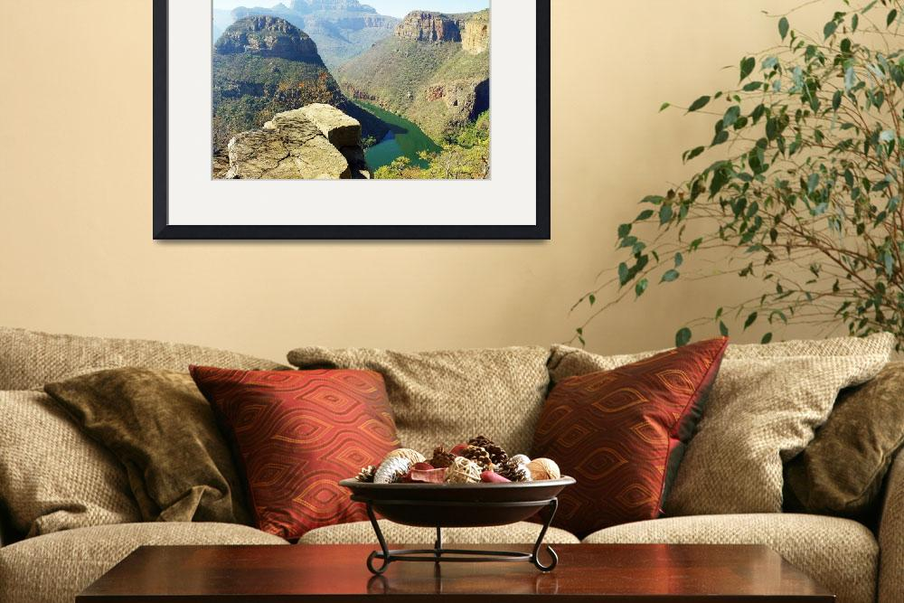 """Blyde River Canyon, South Africa""  (2011) by biriart"