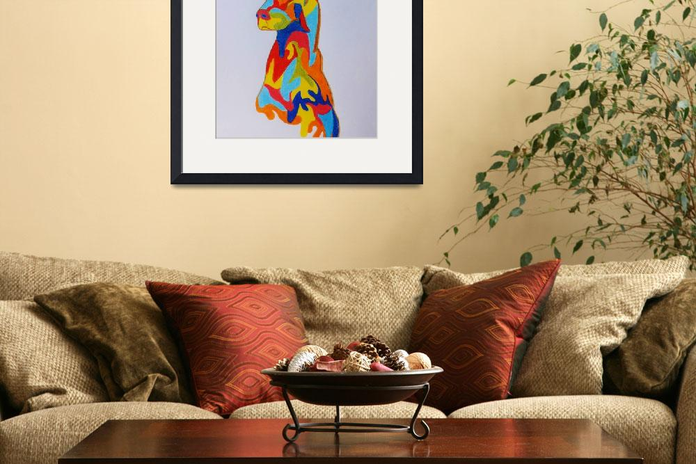"""""""Colors of the dog&quot  (2013) by gallerymay"""