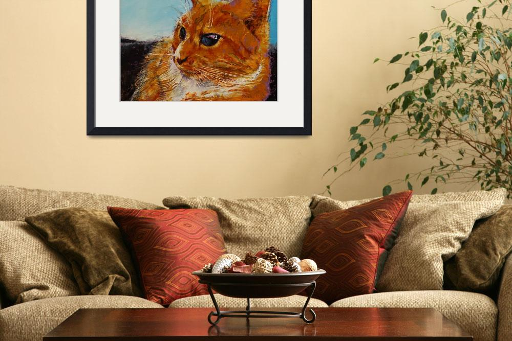 """""""Orange Tabby Cat&quot  by creese"""