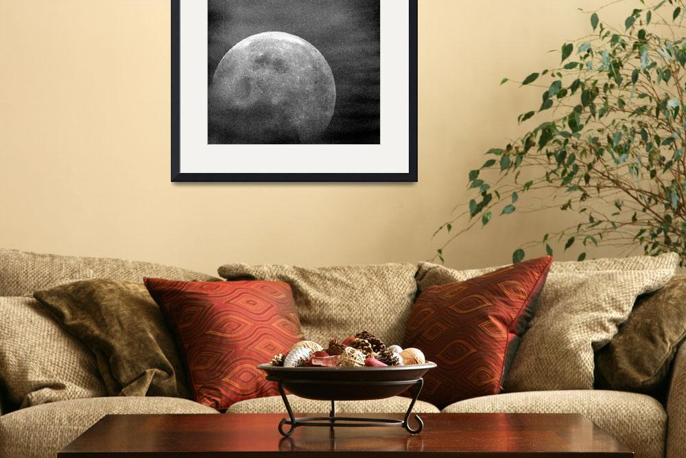 """Moon from Apollo 10&quot  by postpainting"
