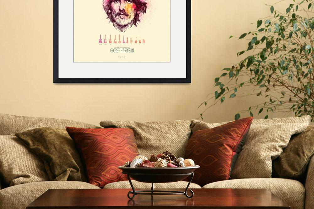 """""""George Harrison&quot  (2010) by oliverbarrett"""