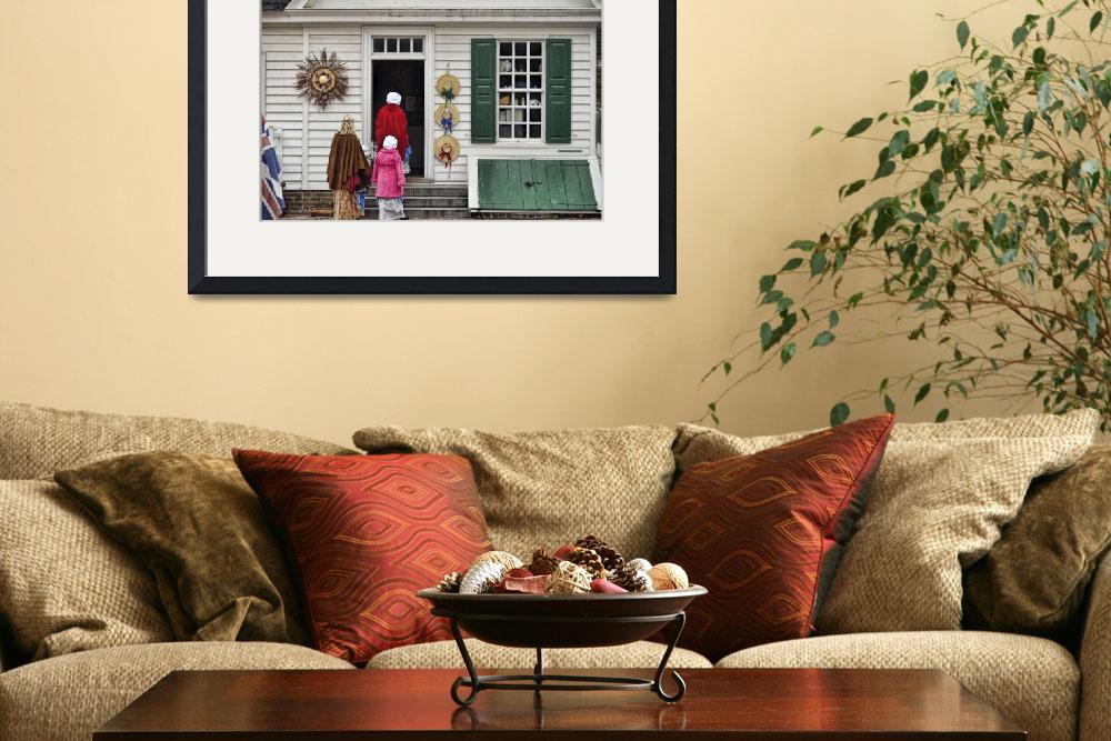 """""""18th Century Shopping&quot  (2013) by PaulCoco"""