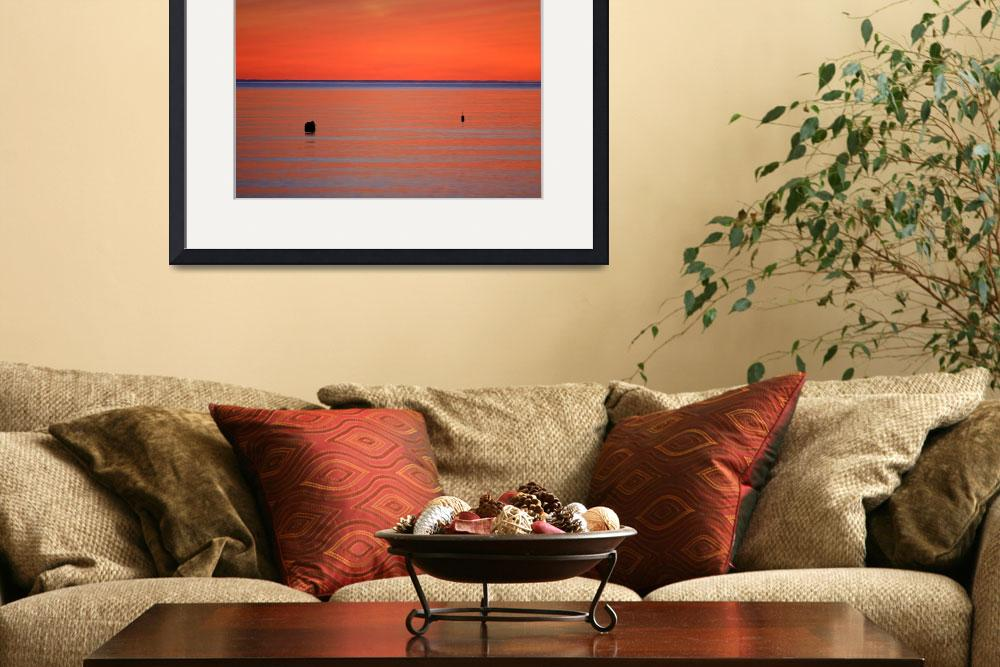 """Chatham, Cape Cod Sunset""  (2007) by ChrisSeufert"