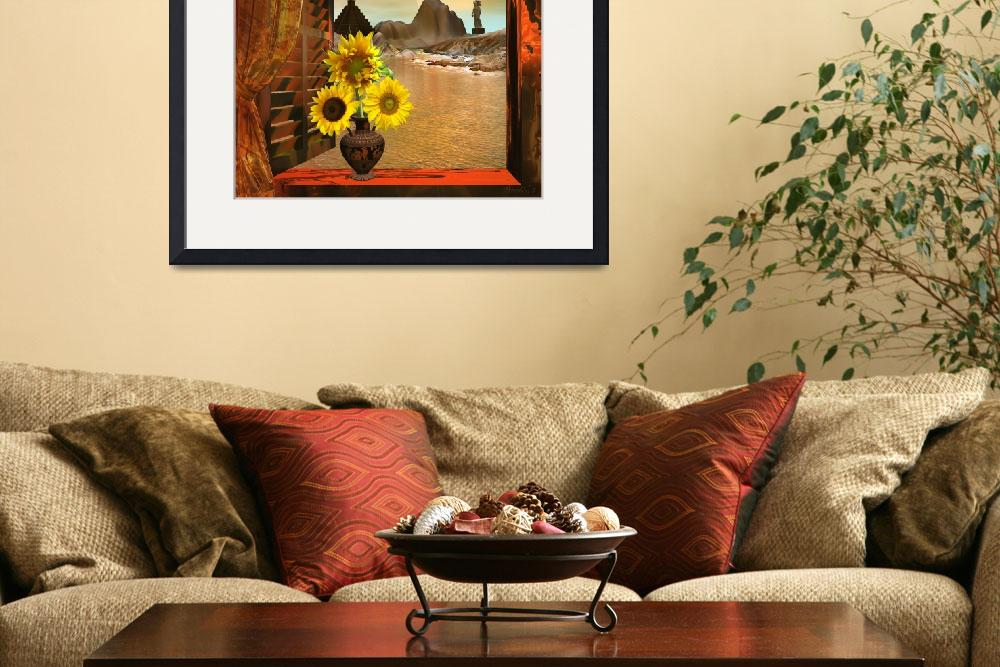 """Italian Sunflowers&quot  (2013) by AnneVis"