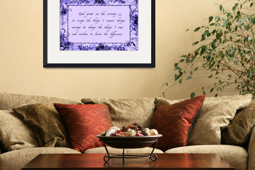 """serenity frame purple&quot  by lizmix"