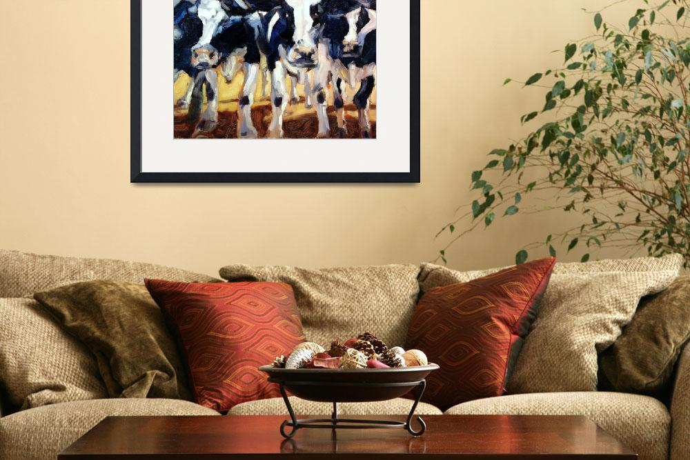 """""""3-COWS&quot  (2005) by briansimons"""