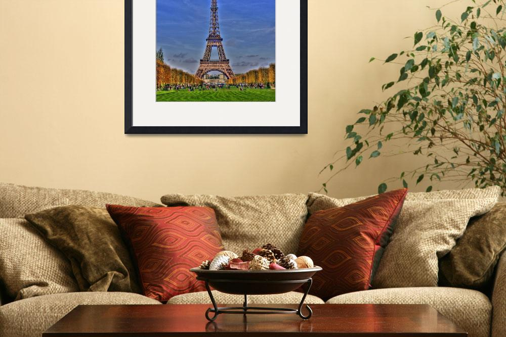 """Eiffel Tower Day&quot  by KlementGallery"