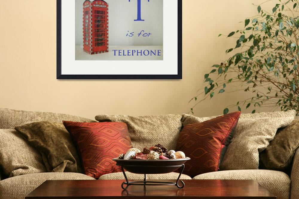 """""""T is for Telephone""""  (2009) by mkcphotography"""