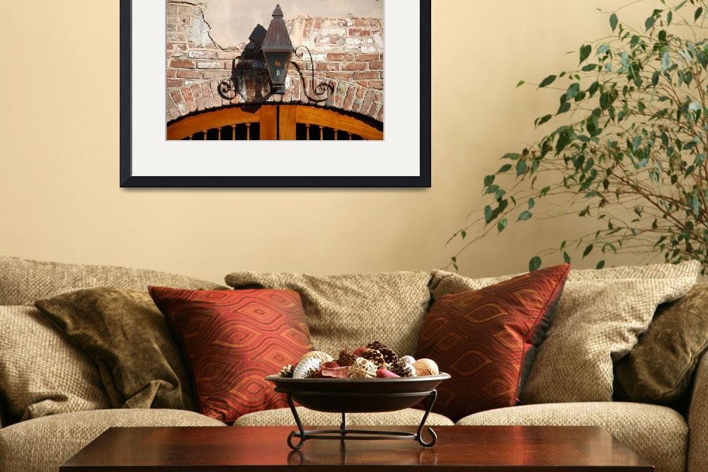 """""""Queen Street Gas Lamp No. 3&quot  by PadgettGallery"""