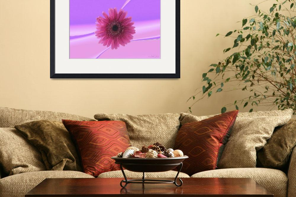 """Abstract flower collection (03 of 16)&quot  (2012) by WallArtDeco"