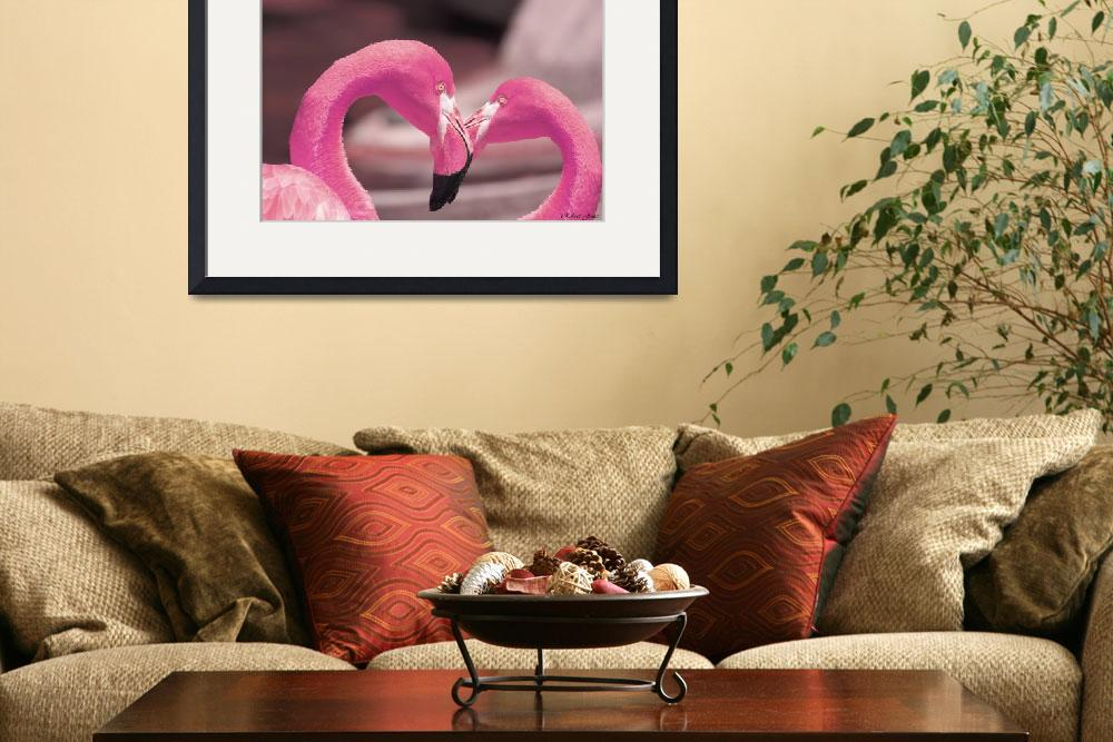 """""""pink flamingo&quot  (2010) by robemory"""