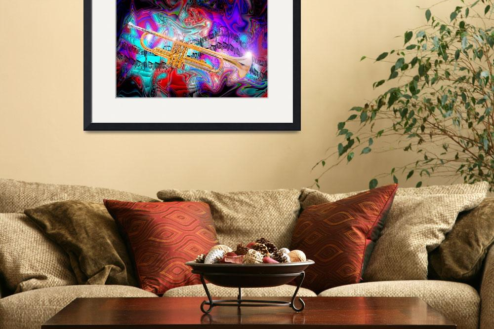 """Psychedelic Trumpet&quot  (2012) by jt85"