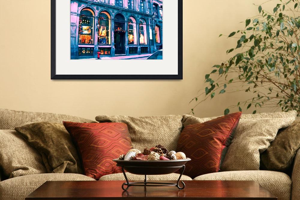 """""""Old Montreal&quot  (2011) by cranberrysky"""