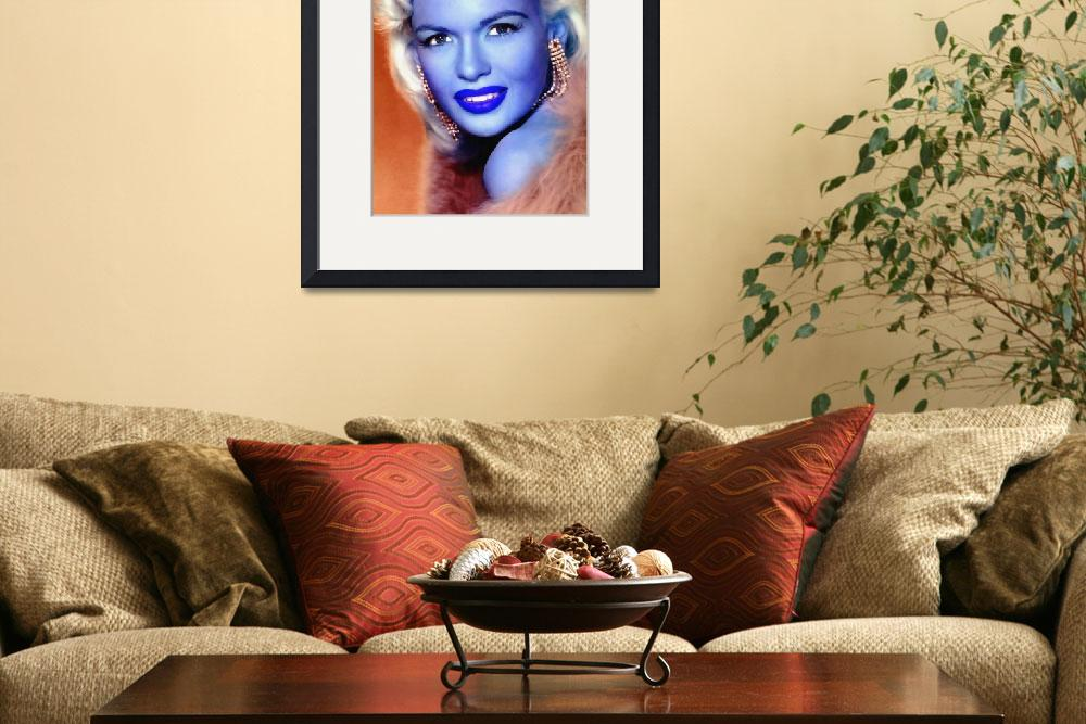 """""""Jayne Mansfield&quot  (2012) by ArtCinemaGallery"""
