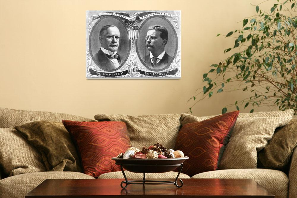 """""""Vintage presidential election poster""""  by stocktrekimages"""