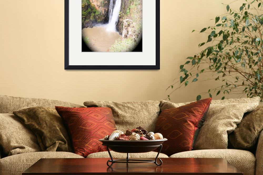 """""""Howick Falls, South Africa&quot  (2009) by JonathanCJPhoto"""