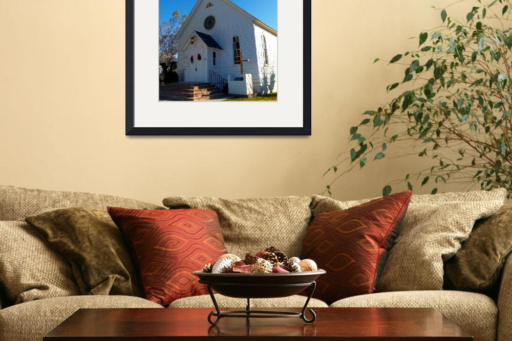 """""""Winchester Country Church&quot  (2012) by GlennMcCarthyArtPhoto"""