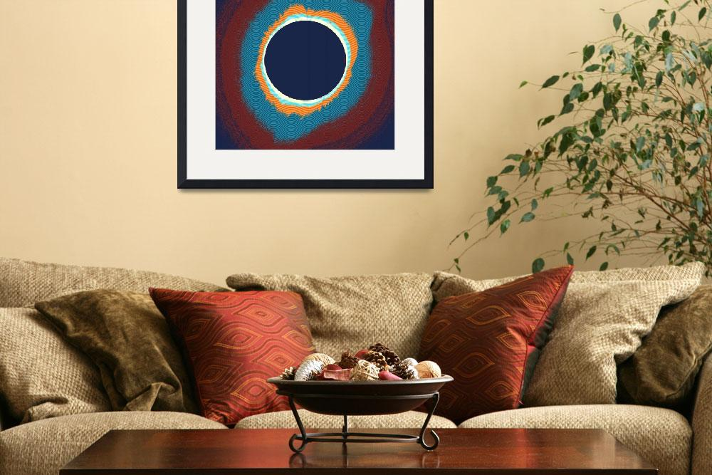 """""""Solar eclipse Poster&quot  by motionage"""