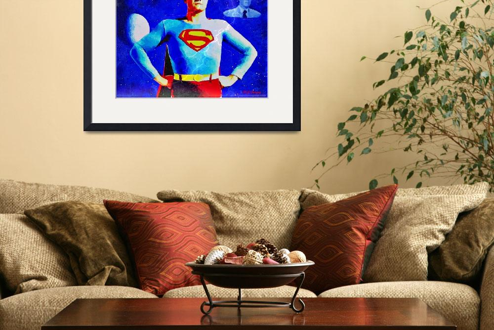 """""""The real Superman&quot  (2011) by MGImaging"""