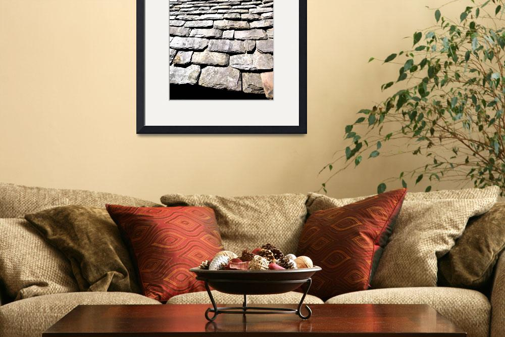 """Welsh Slate Roof&quot  (2009) by DougFR"