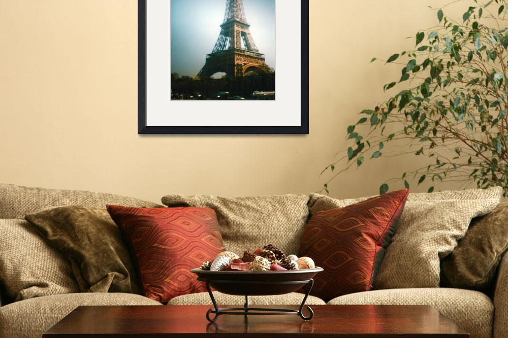 """""""Tour Eiffel&quot  (2009) by anasampaio"""