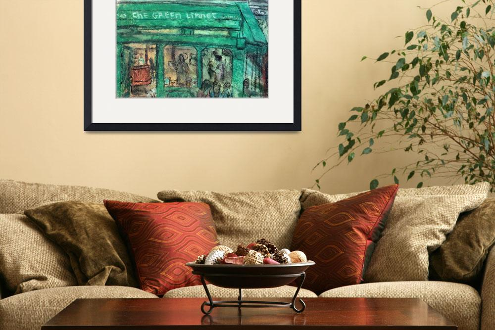 """""""The Green Linnet (Paris)&quot  (2010) by DreamingGodProductions"""