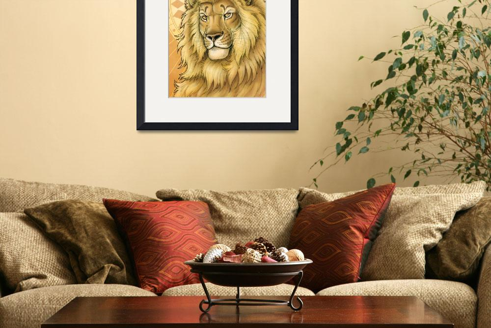 """""""Lion - King of Diamonds&quot  (2005) by smbittler"""