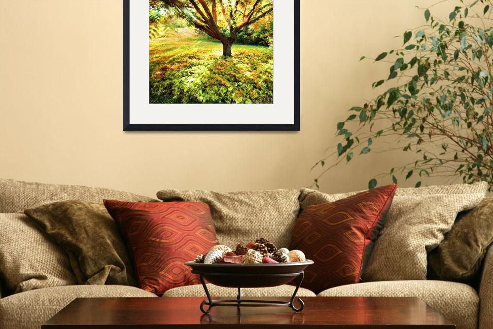 """""""Golden Tree&quot  (2012) by linde58"""