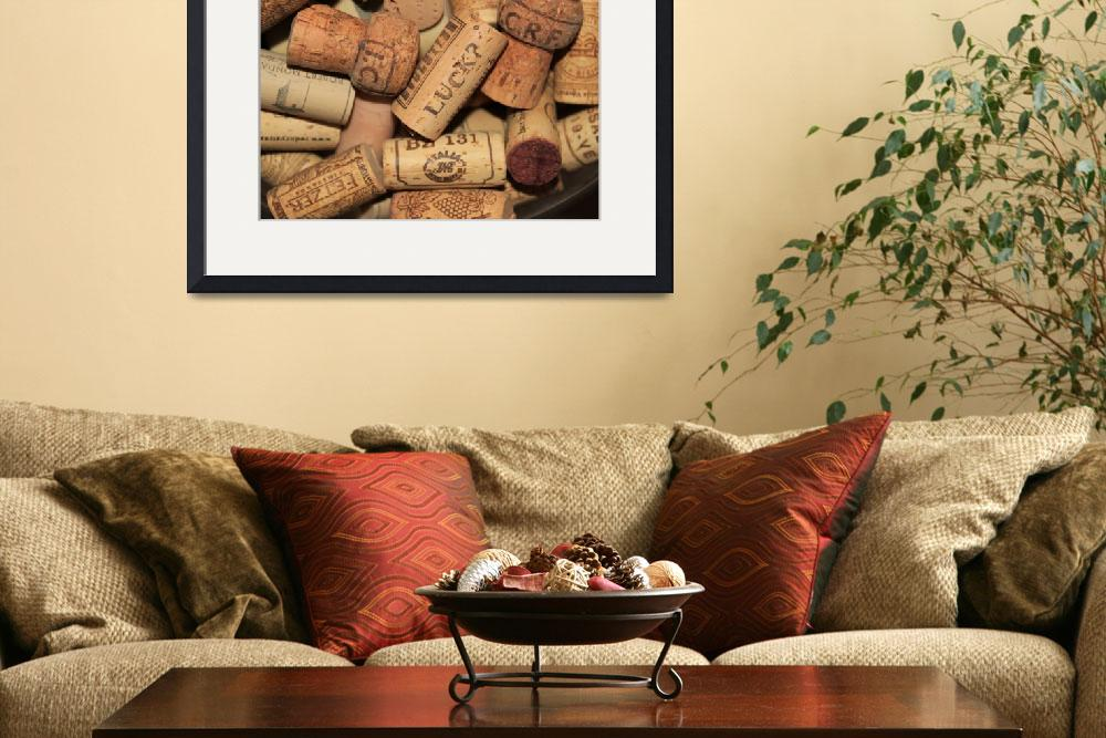 """""""Lucky Corks""""  (2011) by bethallen"""