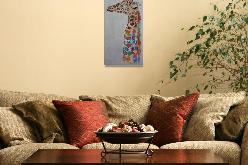 """""""Giraffe&quot  by creese"""