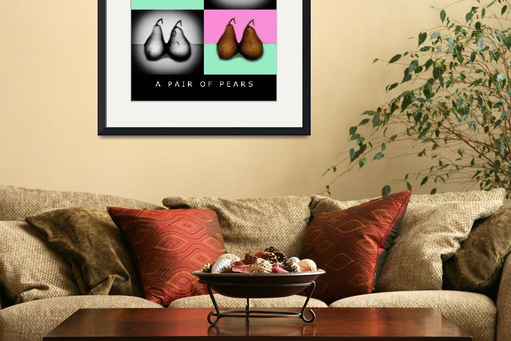 """""""A PAIR OF PEARS 4X""""  (2005) by madeline"""
